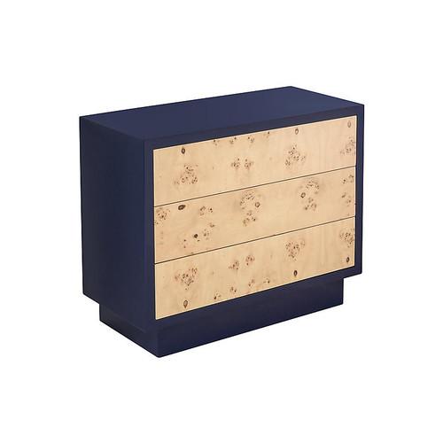 Porter Dresser, Natural/Navy