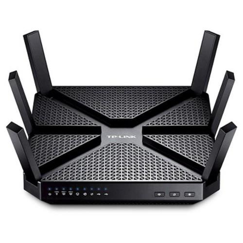 TP-LINK - Archer C3200 Wireless-AC Tri-Band Gigabit Router - Black