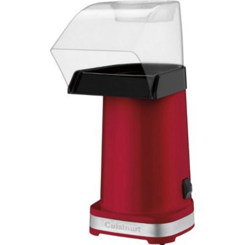 Cusinart EasyPop 10-Cup 2.50-Quartz Hot Air Popcorn Maker, Metallic Red