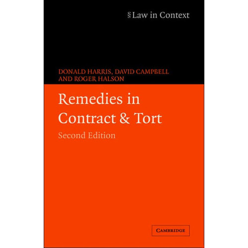 Remedies in Contract and Tort / Edition 2
