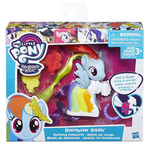 My Little Pony Friendship is Magic Rainbow Dash with Runway Fashions Playset
