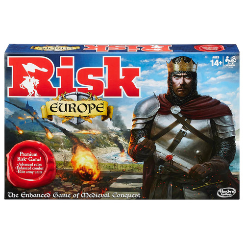 Hasbro Gaming Risk Europe Board Game