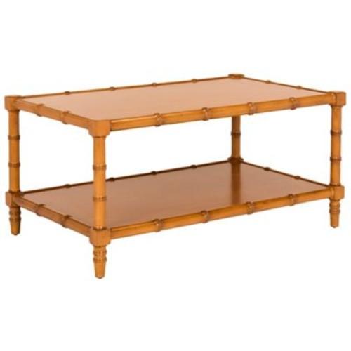 Safavieh Noam Coffee Table in Brown