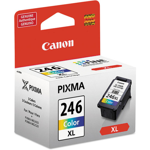 Canon 8280B001 (CL-246XL) ChromaLife100+ High-Yield Ink, Tri-Color