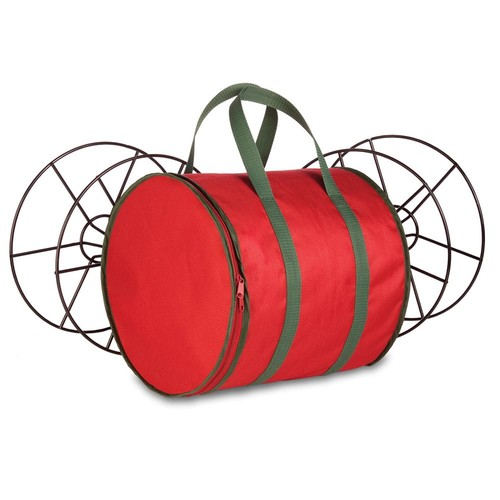 Honey Can Do Holiday Storage storage reels and bag
