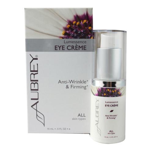 Aubrey Lumessence Anti-Wrinkle & Firming Eye Cream -- 0.5 oz