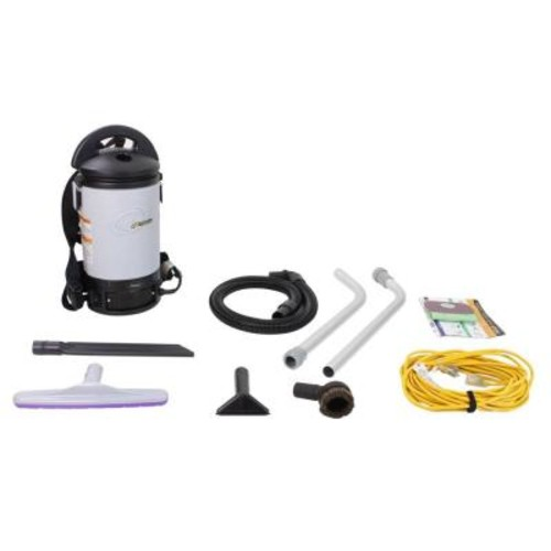 Electrolux Sierra Backpack Commercial Vacuum Cleaner with Restaurant Tool Kit