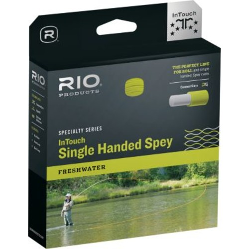 RIO InTouch Single-Handed Spey 3D Floating/Hover/Intermediate Fly Line [Taper Type : Weight Forward; Sink Type : Multiple; Line Type : Sink Tip; Line Weight : 3]