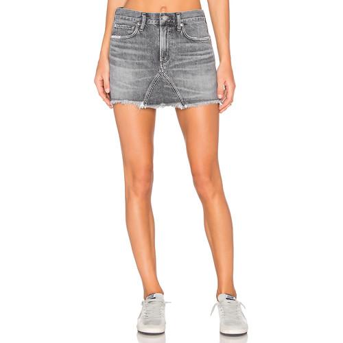 AGOLDE Jeanette Mini Skirt in East Village