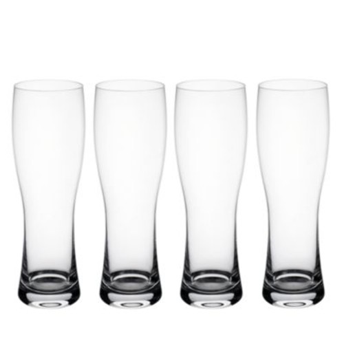 Purismo Wheat Beer Pilsner Glass, Set of 4