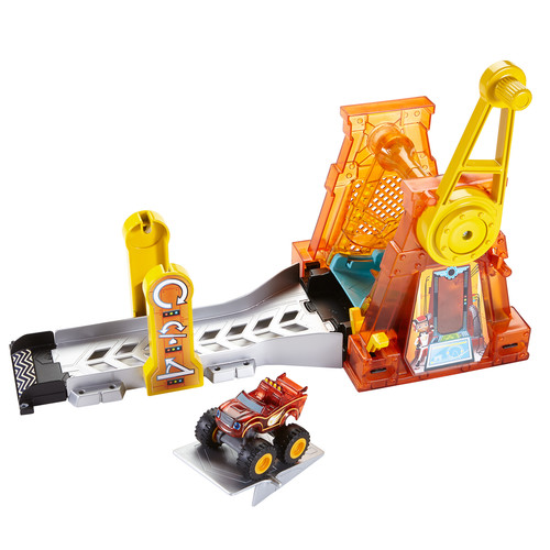 Nickelodeon Blaze and the Monster Machines Light u0026 Launch Hyper Loop
