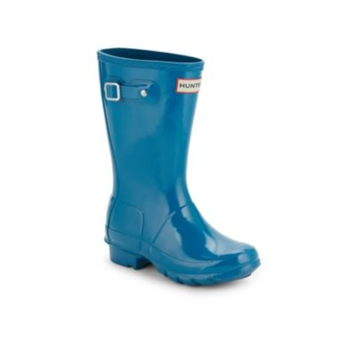 Kid's Glossed Rubber Rain Boots