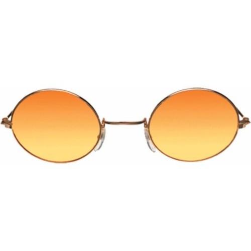 Gold, Orange, Yellow Glasses John Adult Halloween Accessory