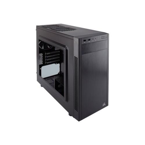Corsair Memory Carbide Series 88R - Mid tower - micro ATX - no power supply (ATX) - USB/Audio (CC-9011086-WW)