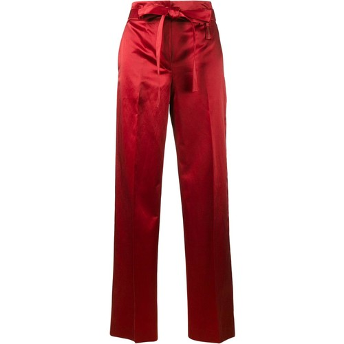 HELMUT LANG Satin Wide-Leg Trousers