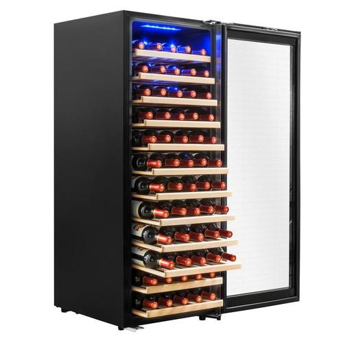 AKDY 19.5 in. 80-Bottle Compressor Wine Cooler