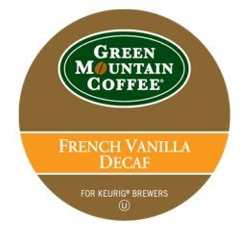 Green Mountain Coffee French Vanilla Decaf K-Cup For Keurig Brewers