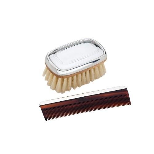 Reed & Barton Pewter Brush and Comb Set, Kent Boy's [Kent Boy's]