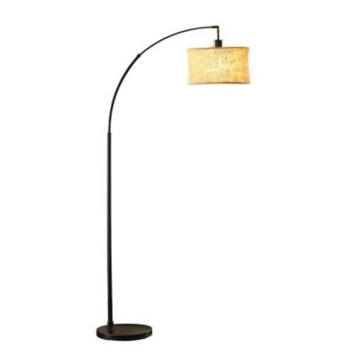 Adesso Harrison 68 in. H Antique Bronze Arc Lamp