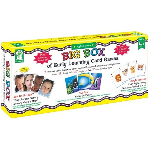 Key Education Publishing Big Box of Early Learning Card Games