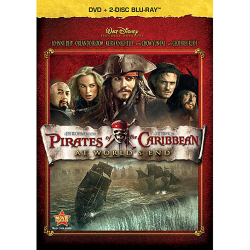 Pirates of the Caribbean: At World's End (DVD + 2-Disc Blu-ray)