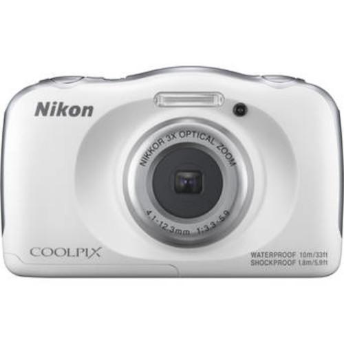 COOLPIX W100 Digital Camera (White)