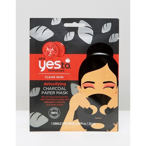 yes to Tomatoes Detoxifying Charcoal Paper Mask