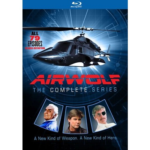 Airwolf: The Complete Series [Blu-ray] [14 Discs]