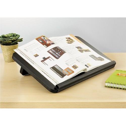 SAFCO Ergo-Comfort Read/Write Freestanding Desktop Copy Stand, Wood, Black (SAF2156BL)