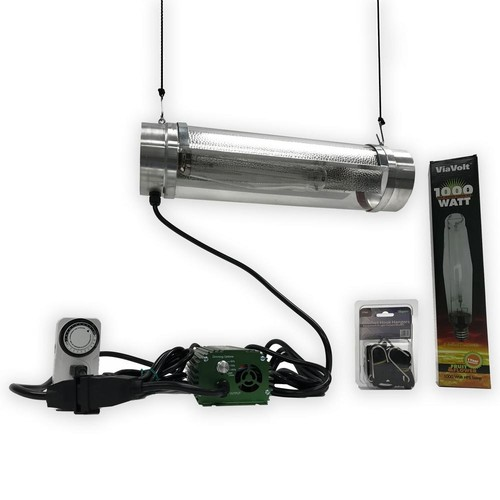 ViaVolt 1000-Watt Air Cooled Cylinder Grow Lighting System