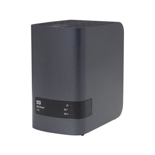 WD My Cloud EX2 8TB Personal Cloud Storage - NAS (WDBVKW0080JCH-NESN)