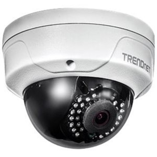 TRENDnet Network Surveillance Camera - Dome, Outdoor, Vandal/Weatherproof, Color (Day & Night), 4MP, 2688 x 1520, Fixed Focal, MJPEG, H.264 - TV-IP315PI