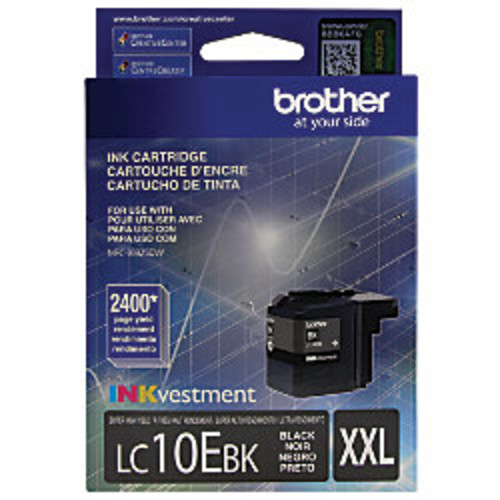 Brother LC10EBK High-Yield Black Ink Cartridge