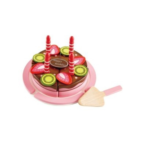 Playfully Delicious Double Flavored Birthday Cake Toy