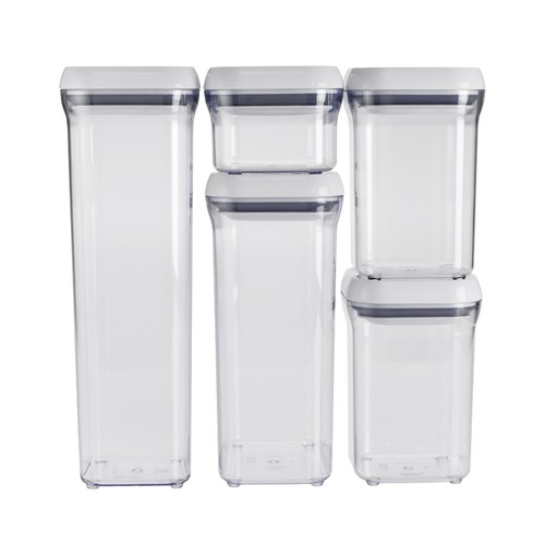 OXO Good Grips 5-Piece Airtight POP Container Set [Standard Packaging]
