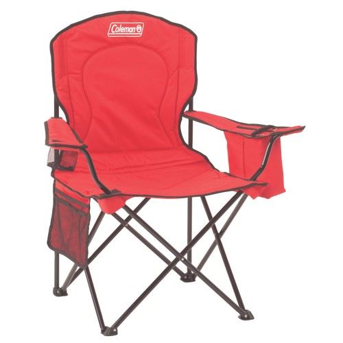 Coleman Cooler Quad Chair - Red