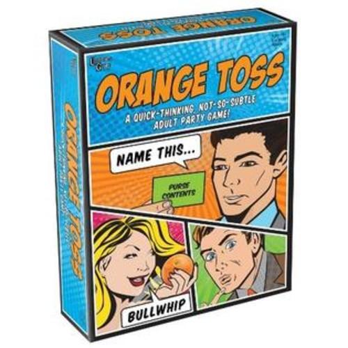 University Games UNV01053 Orange Toss Game