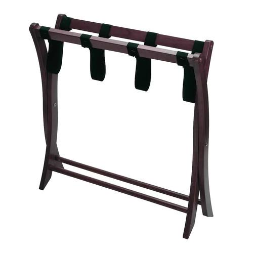 Winsome Wood Luggage Rack, Walnut [Walnut]
