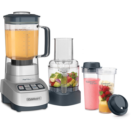 Velocity Ultra Trio Blender/Food Processor with Travel Cups, Aluminum