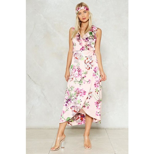 If Only Tonight We Could Sleep Floral Dress
