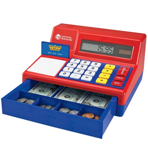 Pretend \u0026 Play Calculator Cash Register by Learning Resources