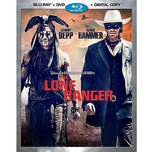 The Lone Ranger (2013) (Blu-ray + DVD + Digital Copy) (Widescreen)