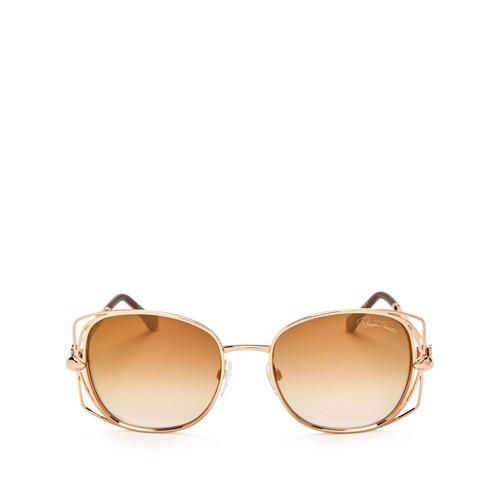 ROBERTO CAVALLI Mirrored Square Sunglasses, 58Mm