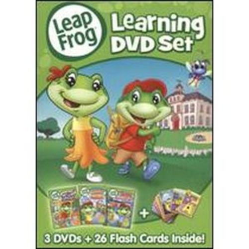 LeapFrog: Learning DVD Set [3 Discs]