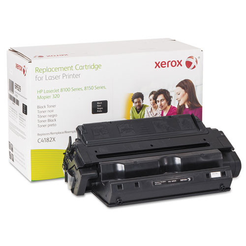 Xerox 6R929 Compatible Remanufactured High-Yield Toner, 21800 Page-Yield, Black