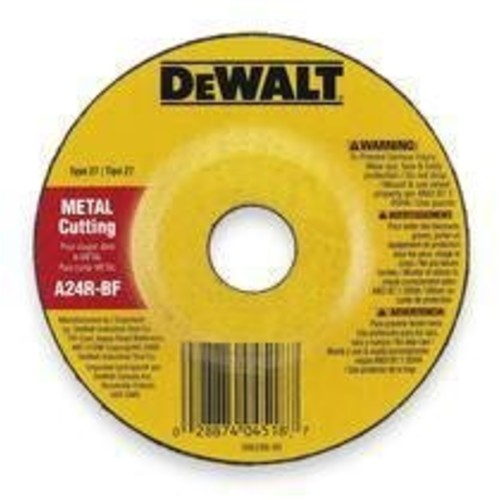 DEWALT DW4548 7-Inch by 1/4-Inch by 5/8-Inch-11 High Performance Fast Metal Grinding Wheel