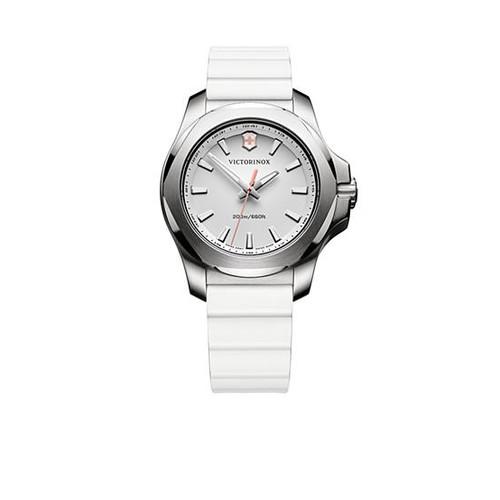 Victorinox Swiss Army, Inc. Women's I.N.O.X. White Rubber Watch