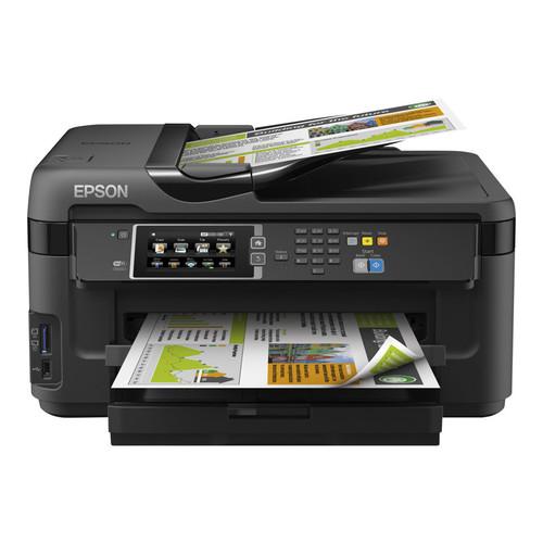 Epson WorkForce WF-7610 Wide-Format All-in-One Inkjet Printer