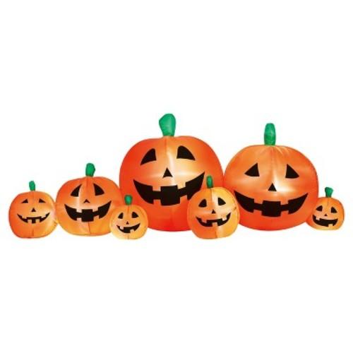 Halloween Inflate Pumpkin Patch 8ft