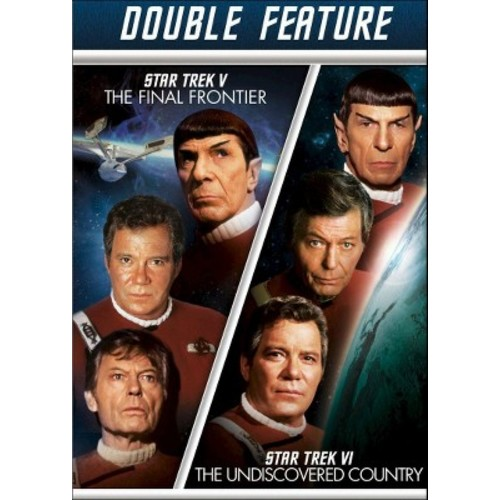Star Trek V: The Final Frontier/Star Trek VI: The Undiscovered Country [2 Discs] - DVD